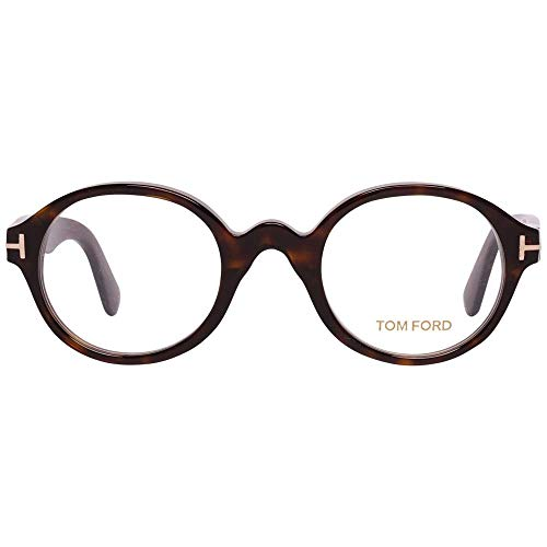 Tom Ford Unisex-Erwachsene Optical Frame FT5490 052 46 Brillengestelle, Braun,
