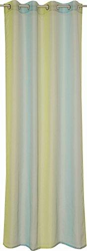 schoner-wohnen-sw-de-corso-rideau-a-oeillets-polyester-aqua-140x250