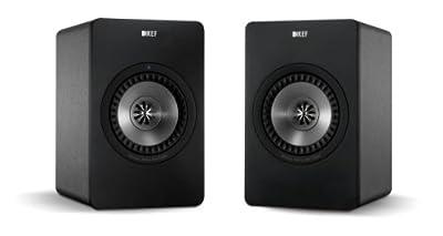 KEF X300A WIRELESS - Wireless Multimedia Monitor amplificati - Finitura GUNMETAL (Prezzo riferito alla coppia)