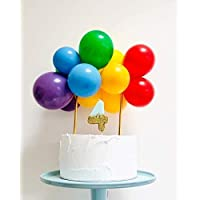 Balloon Birthday Cake Decoration Do it yourself Kit//Balloon Cake Topper //Balloon Garland // Any Colour