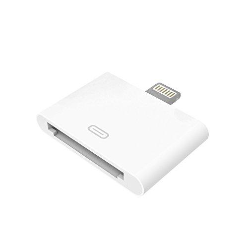 Lightning Adapter 30 pin, qubbi® für das iPhone X 10 8 7 6 6S 5 5S SE und Plus [ 30-pin auf 8-pin ]