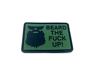 Barbe The Fuck Up Airsoft Velcro Patch en PVC