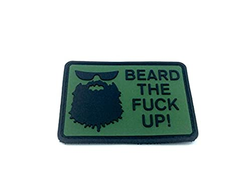 Beard The Fuck Up Airsoft Klettverschluss PVC Patch