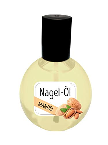 KM-Nails Nagelöl Mandel 80ml XXL Sondergröße Paraffin frei
