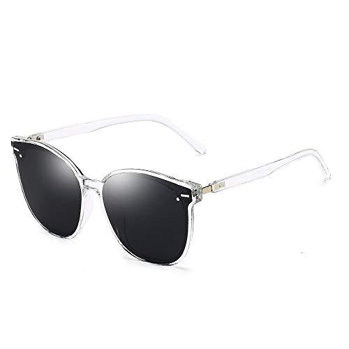 YIWU Brillen Neue Sonnenbrille Koreanische Version GM Damen Sonnenbrille Metall Reis Nagel Sonnenbrille Retro Runde Rahmen Männer Brille Großhandel Brillen & Zubehör (Color : 3) (Brille Großhandel)