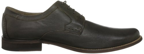 Hush Puppies Lassen, Chaussures à lacets homme Marron foncé (Dark Brown Washed Leather)