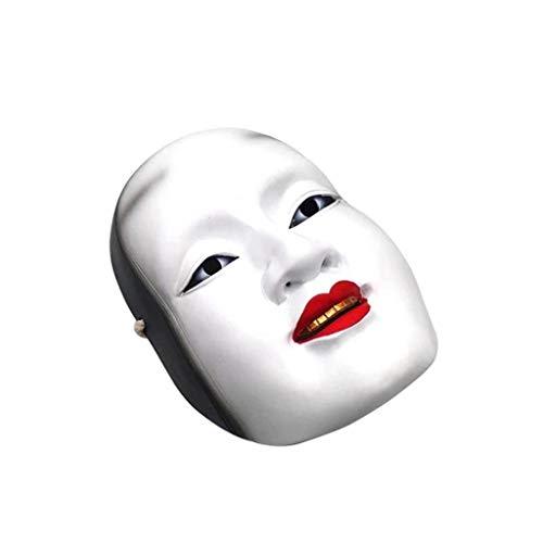 jdskk Halloween Horror Maske, böse Drama Kostüm Cosplay -