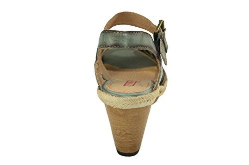 Scarpe Donna Sandali PIKOLINOS con Zeppa 9 cm Numero 40 Aperte Jeans