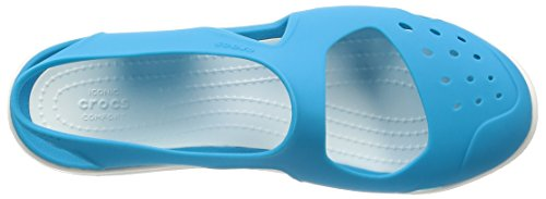 Crocs Swiftwater Wave, Zoccoli Donna Electric Blue