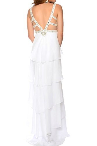 Victory Bridal - Robe - Trapèze - Femme Blanc