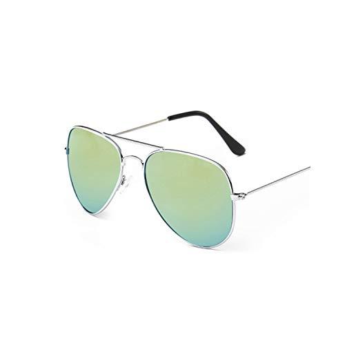 Sportbrillen, Angeln Golfbrille,Men's Sunglasses Women Brand Designer Pilot Driving Male Female Cheap Sun Glasses Eyeglasses Gafas Oculos De Sol Masculino UV400 Silver Gold