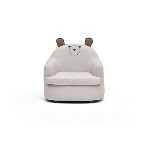 LRSFM Kinder kleine Sofa Mädchen Prinzessin niedlichen Cartoon Stuhl Junge faul Sitz Mini Baby Stuhl (Farbe : Gray, größe : Bear)