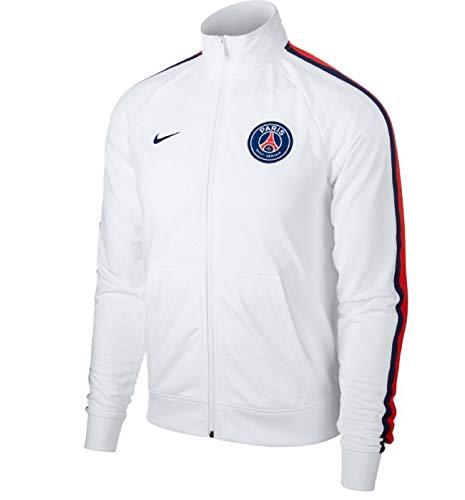Nike Herren Paris Saint Germain Jacke, White/Loyal Blue, L