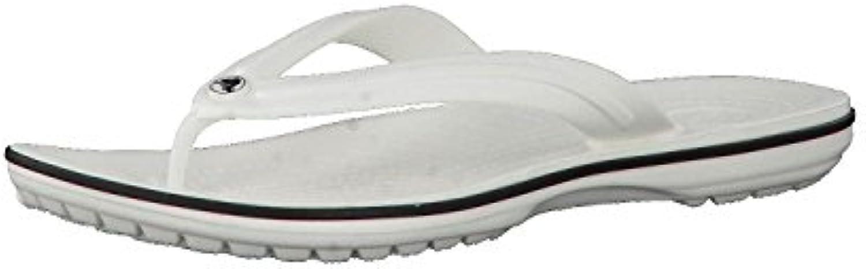 Crocs Hombre Crocband Pantuflas Zapatillas Zapatos Calzado Casual Blanco 45-46 -