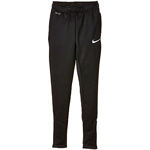 Nike Academy B Tech Pant - Pantalón para niño, color negro / blanco, talla XS