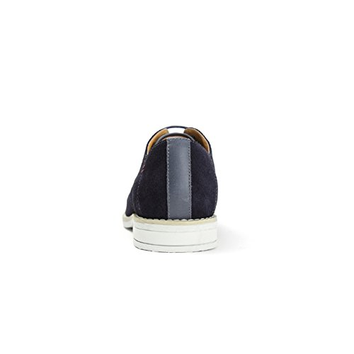 Primavera scarpe casuale semplice/ tondo testa tacco basso Blu