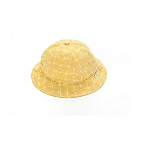 Ansicht, Baseball (HUIJUNWENTI Frühling und Sommer Kinder Caps Bears Jungen und Mädchen Baby Sonnencreme Visier koreanischen Baseball-Mütze (Color : Yellow))