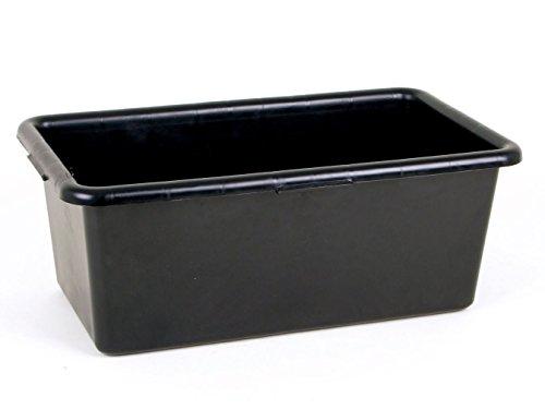 3er Set Mörtelkasten 60 Liter - aus Kunststoff in schwarz (3x 60 Liter)
