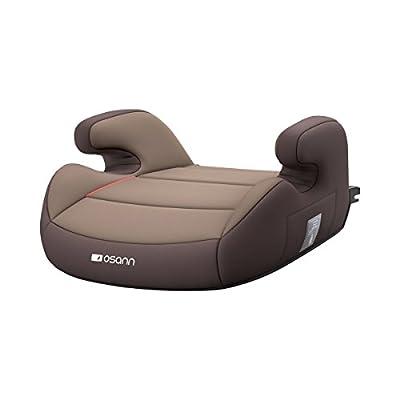 osann Junior Sitzerhöhung mit Isofix - ergonomischer Autositz für Kinder ab 3 Jahre - Kindersitz mit gepolsterten Armlehnen & abnehmbarem Bezug