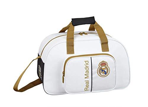 Safta 711954273 Real Madrid 19/20 Bolsa dep/Viaje 40x24, Juventud Unisex, Varios, TU