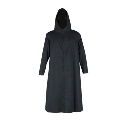 Anbu Cosplay Kostüm - Dream2Reality japanische Anime Naruto Cosplay Kostuem -ANBU Cloak 2nd Ver-black Small