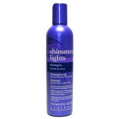 Clairol Silver Shampoo (Clairol Shimmer Lights 8oz. Shampoo (Blonde&Silver) by Clairol)