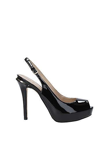 Guess Sandalo Open Toe MOD. HARTLIE2 TC 110 Pelle Colore Nero Donna DS19GU29