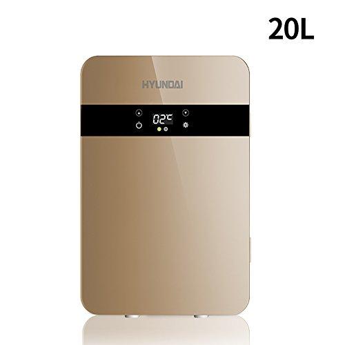 Fjw frigorifero portatile per auto 20l alta capacità uso familiare 220v uso dell'automobile 12v raffreddamento rapido display digitale frigorifero per auto,metallic