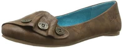Blowfish Womens Peppermint Whiskey Old Saddle Ballet Flats BF2493 4 UK, 37 EU