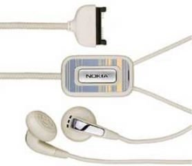 Nokia HS-31 Stereo-Headset weiss 6280 Stereo