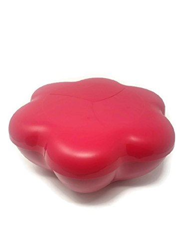TUPPERWARE Chip N Dip Party Servieren-Set New Strawberry Rot Chip Dip Set