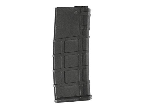 Lonex M4 / M16 Airsoft MidCap Magazin (200 BBs) - schwarz