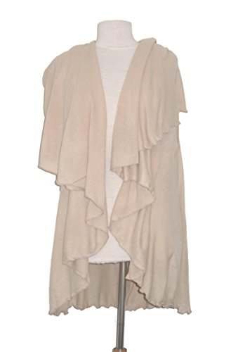 Lagenlook -  Cardigan  - Donna Cream