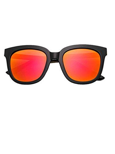 Wer Bin Ich Frau Kasten-Sonnenbrille Kleines Gesicht Signifikante Art Und Weise Wilde Sonnenbrille,亮黑红水银