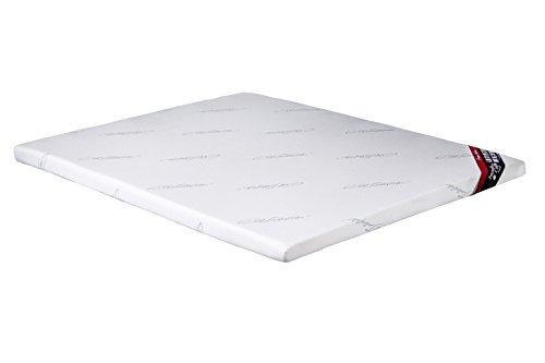 Preisvergleich Produktbild Imperial Komfort Topper viscoeslástico, Polyester, Weiß, Doppelbett, 180x 120x 8cm