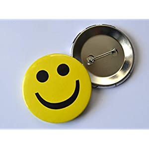 Button Anstecknadel Smiley