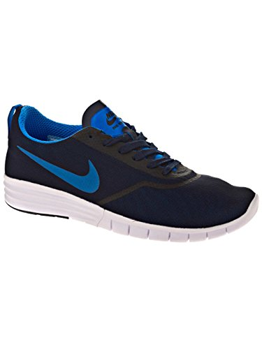 Nike Jungen Sb Lunar Paul Rodriguez 9 Skaterschuhe Schwarz / Blau / Weiß (Obsidian / Photo Blau-Weiß)