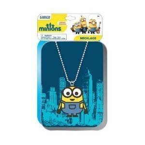 Disney Despicable Me Minions Printed Tin Case with Rubber Charm Bracelet by Disney Despicable Me
