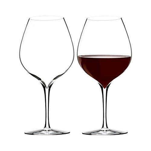 Waterford Crystal Elegance Wein Geschichte Merlot Wein-Glas-Pair Merlot Crystal