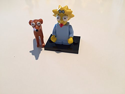 Lego-71009-Simpsons-serie-2-Maggie-and-Santa