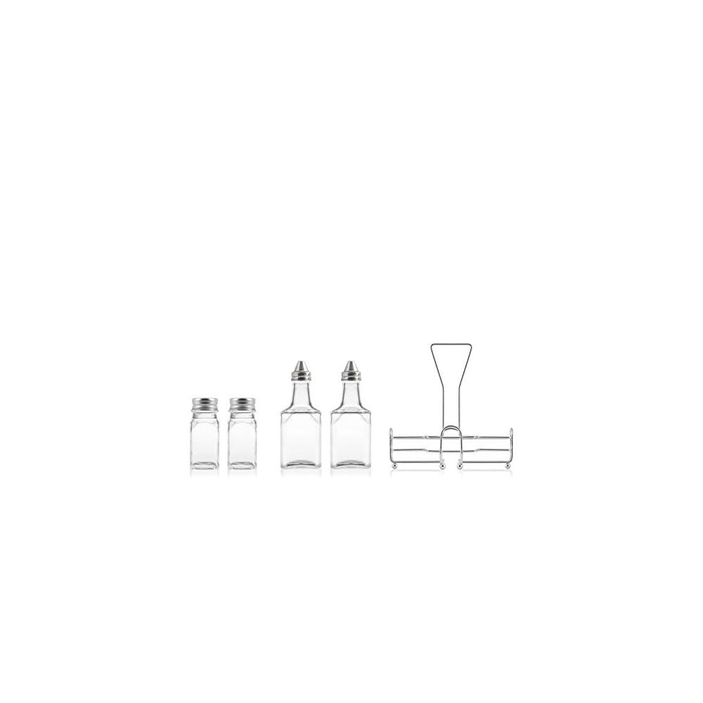 Lflasche Home Grey Mit 4 Stck Mit Stand 4 Einheiten