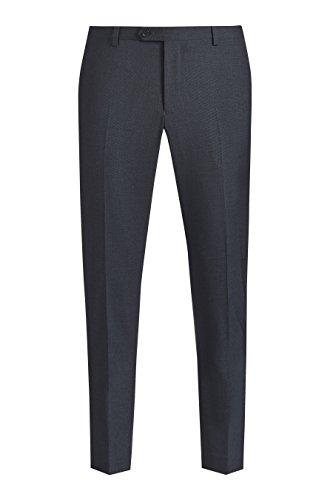 next Homme Costume texturé:pantalon Bleu Marine