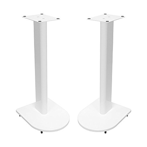 Fisual Dynami Uno Speaker Stands (Pair) (600mm, Gloss White)