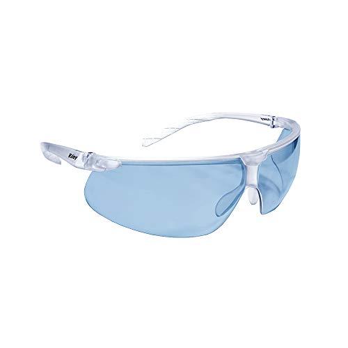 Riley Eyewear RLY00343 Brillenglas RILETTO ULTRA-LITE, transparenter Rahmen, Blau