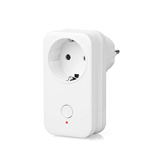 Presa Intelligente Wi-Fi Yuanguo, Presa per Telecomando Interruttore Timer Funziona con Amazon Alexa, Assistente Google, IFTTT, Controllo Vocale per Luci di Commutazione ed Elettrodomestici(1P)