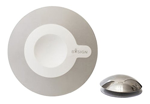 Bosign Kosmetikspiegel 5x weiß-grau