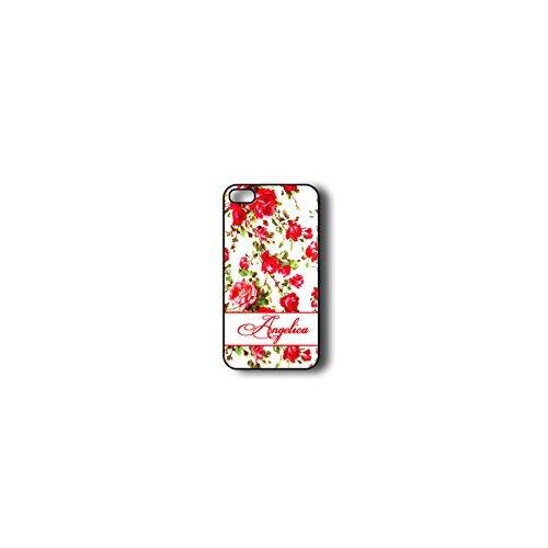 Krezy Case Monogram iPhone 6 PLUS Case, Colorful flowers Pattern Monogram iPhone 6 PLUS Case, Monogram iPhone 6 PLUS Case, iPhone 6 PLUS Case Cover