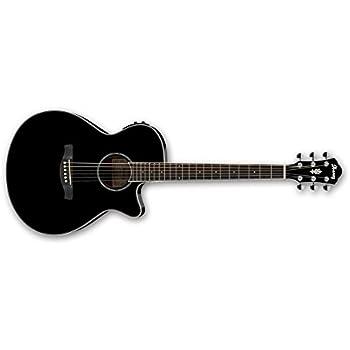 ibanez tcy10e bk electro acoustic guitar musical instruments. Black Bedroom Furniture Sets. Home Design Ideas