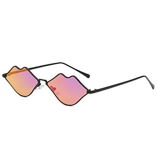 TOOGOO Kleine Lippen Form Sonnenbrille Frauen Neu Sex Mund Designer Sonnenbrille Herz Shades (Lila) (Frauen Für Sex-formen)
