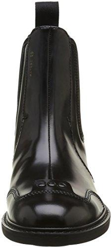 G-STAR RAW Guardian Loafer, Chelsea Bottes Femme Noir (Black 990)